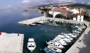 Pag webcam - town marina